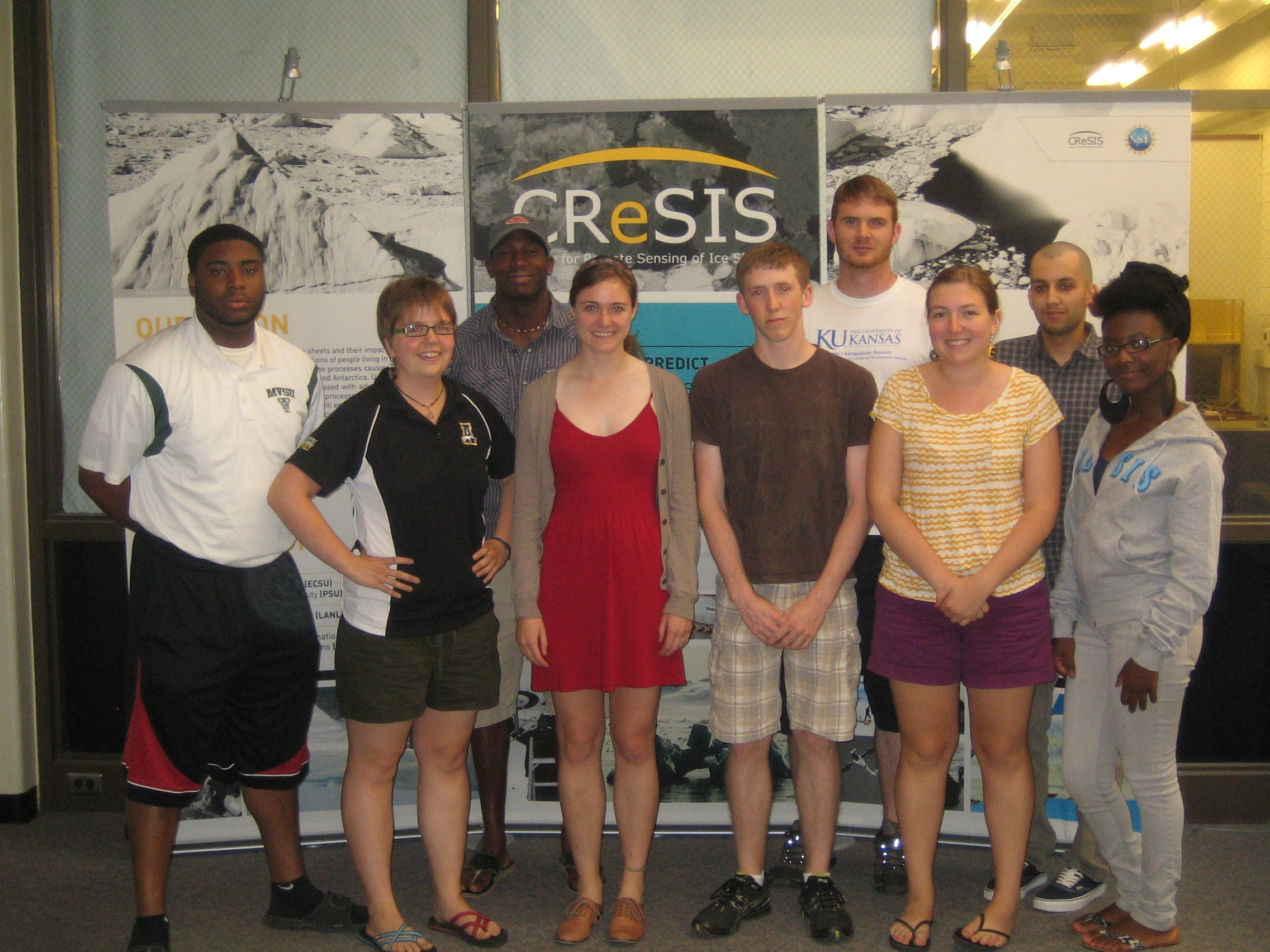 2012 REU Students