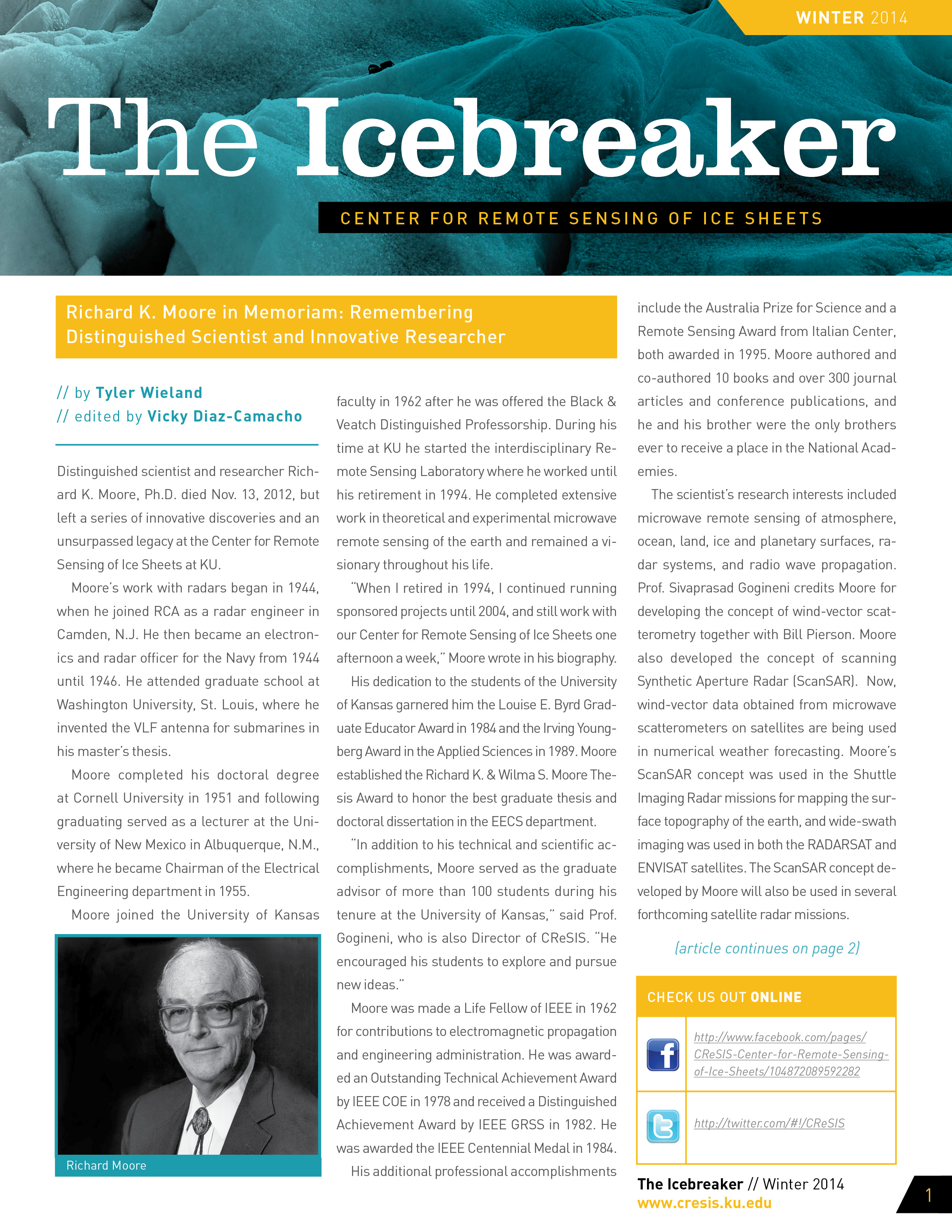 Download the Winter 2014 Icebreaker