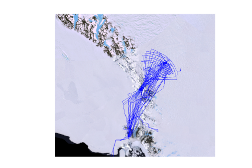 Antarctic Flight Lines